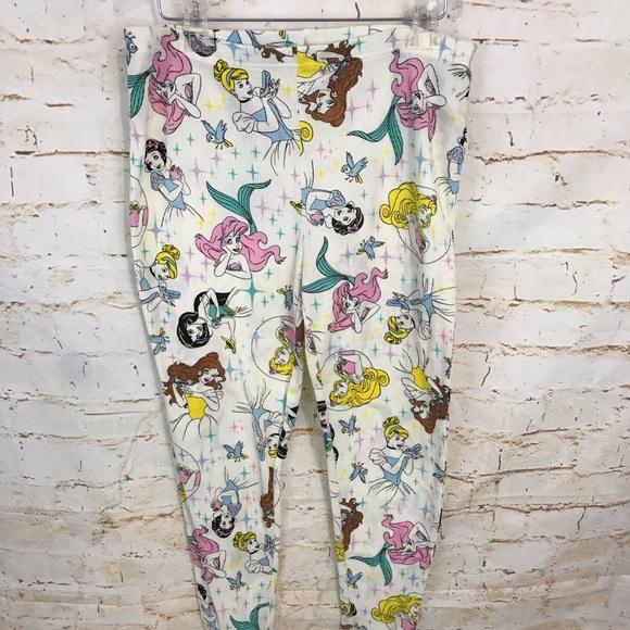 7f0b6b0a6e240 Disney Intimates & Sleepwear | M Princess Thermal Pajama Pants No ...